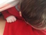 Meu bebê não gosta do sling